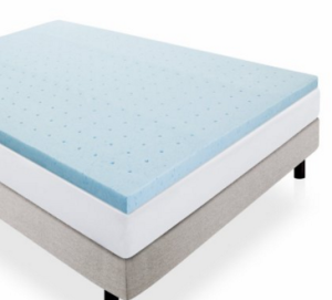 Quality gel memory foam topper