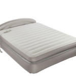 Comfy air bed with head board